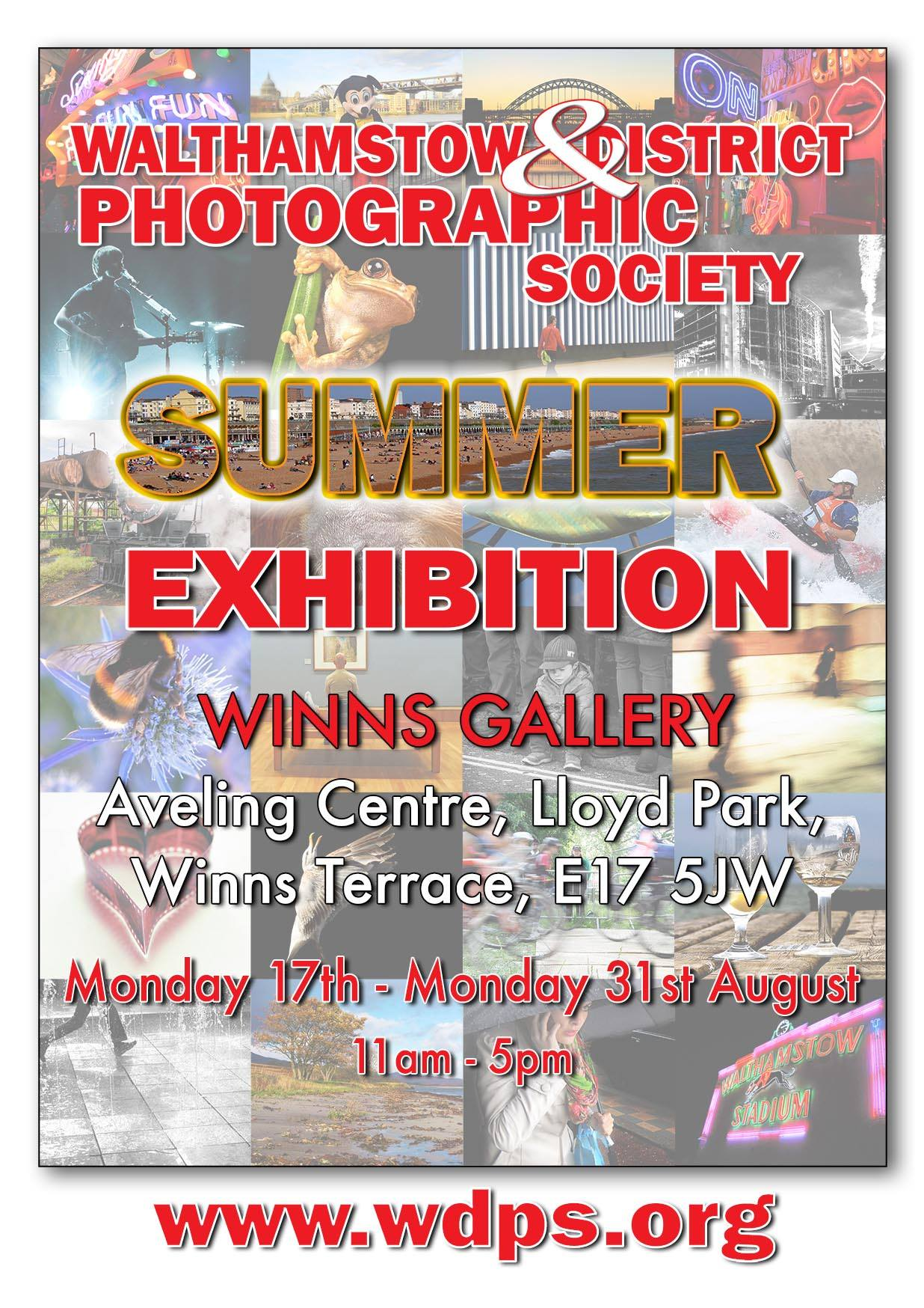 summer photography exhibition walthamstow