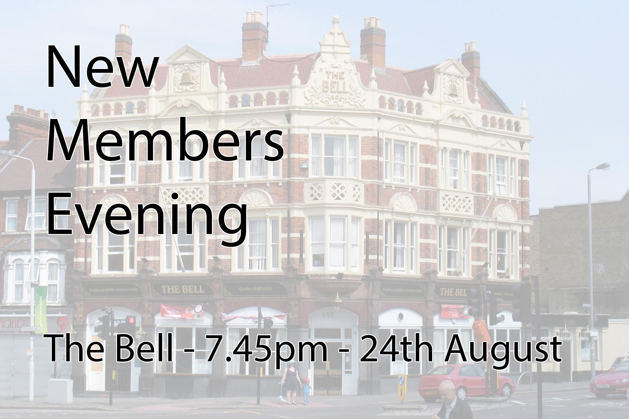 New Members Evening – 2015