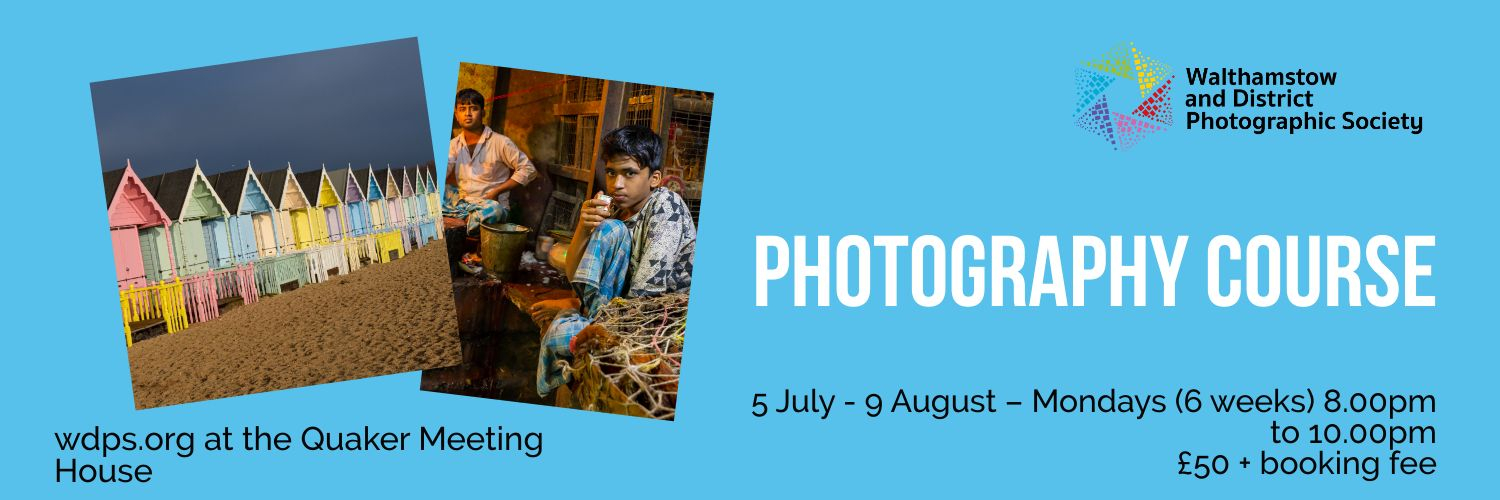 2021 walthamstow photography course